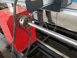 2017 Нова преносна машина за резање металних цеви плазма, ЦНЦ машина за резање металних цеви