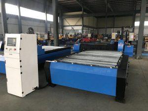 Кина 1325 1530 јефтина контрола висине бакље плазма хуаиуан метални челик за сечење цнц машина за резање плазме