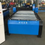 Кина 100а плазма резање ЦНЦ машина 10 мм плоча метала