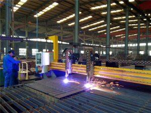 Гантри ЦНЦ машина за резање плазме и машина за сечење пламена за челичну плочу