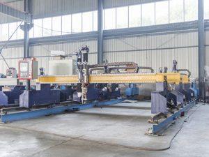 Интелигентна машина за резање металних плоча са ЦНЦ аутоматском машином за резање плазме и пламен