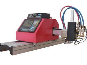 мултифункционална квадратна челична профилна цев машина за резање пламеном / плазмом високог квалитета