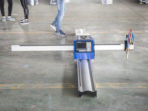 Нова технологија микро СТАРТ ЦНЦ резач за метал / преносива ЦНЦ машина за резање плазмом