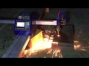 нискобуџетна мини преносна машина за пламено резање цнц цеви за резање металног нерђајућег челика