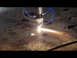 произведено у кинеској гаранцији трговине јефтина цена преносни резач цнц машина за плазмо резање нехрђајућег челика металног гвожђа